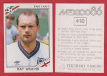 England Ray Wilkins A.C Milan